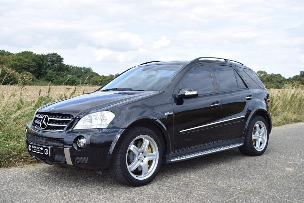 2007 Mercedes-Benz ML63 AMG in Obsidian Black Metallic