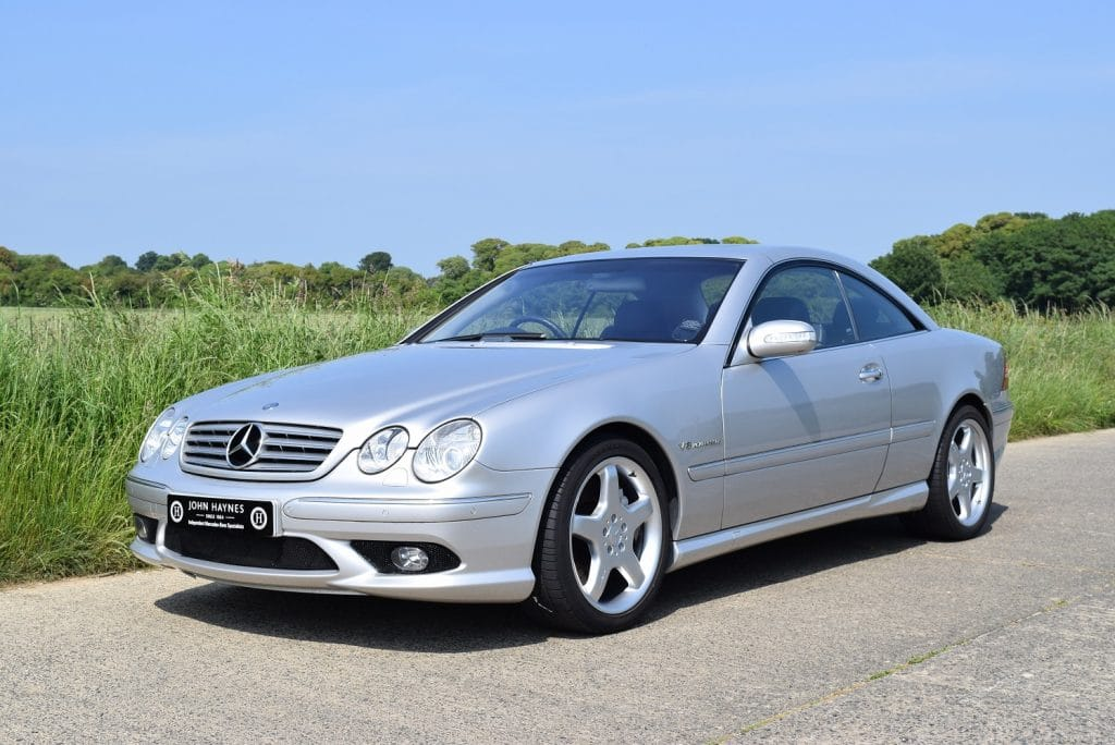 2003 MERCEDES-BENZ CL55 AMG KOMPRESSOR