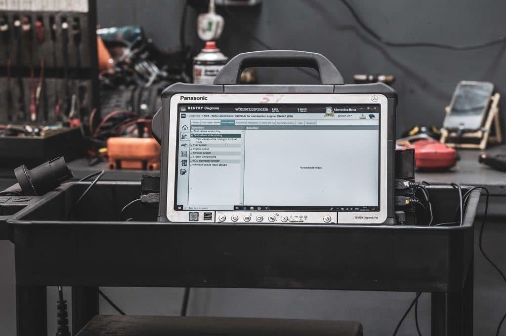 Electrical diagnostics fault code equipment