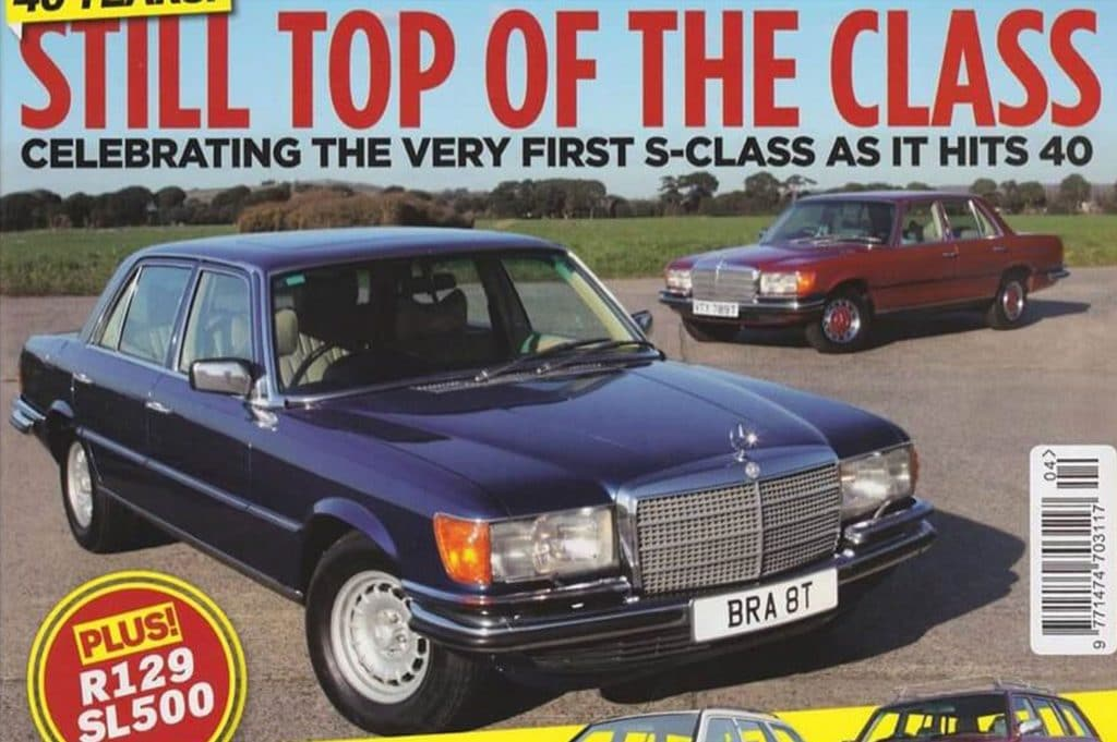 Celebrating 40 years of the W116 in 2012