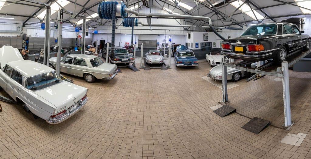 John Haynes workshop