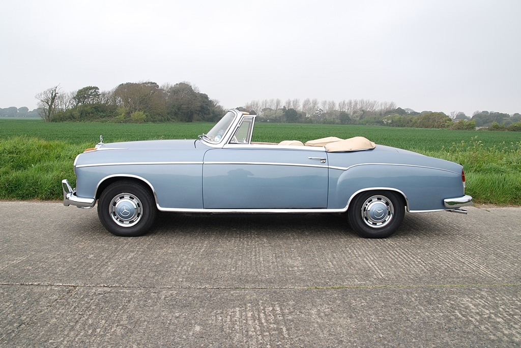 1960 Mercedes 220SE Ponton Cabriolet
