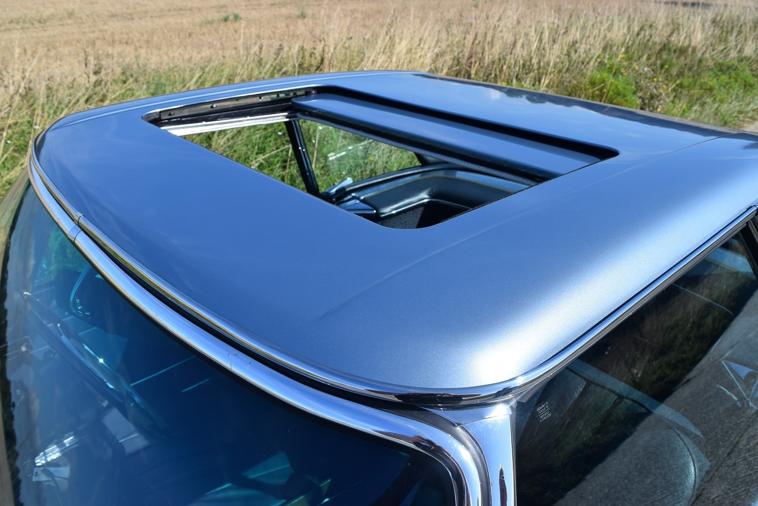 sunroof fitment to Mercedes-Benz 280SL/8 Pagoda hardtop