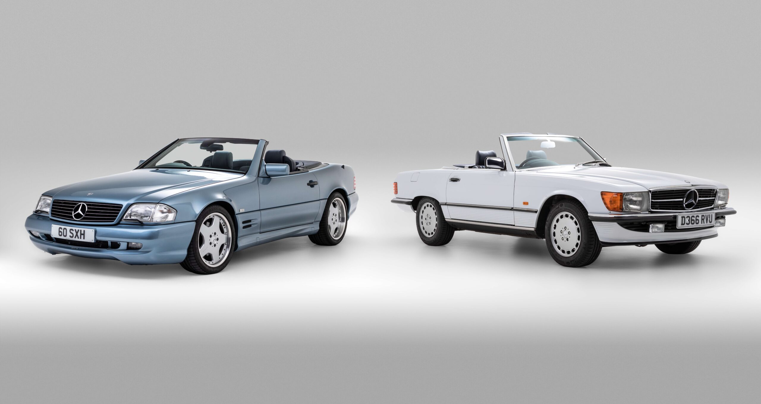 Mercedes-Benz SL60 and SL420