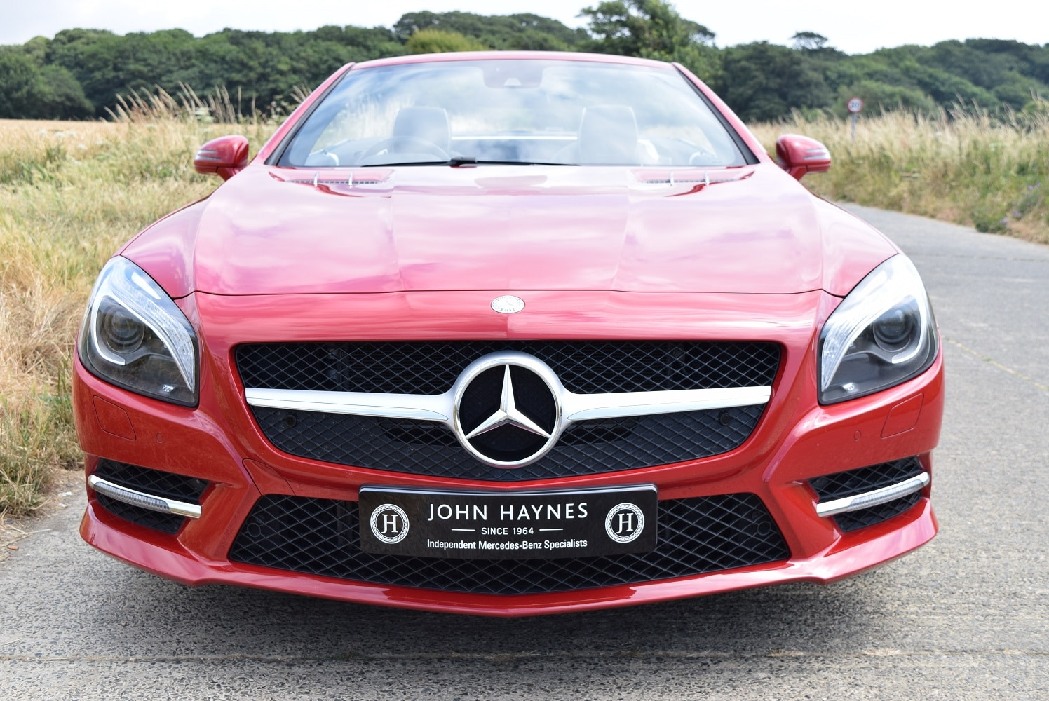 2013 Mercedes-Benz SL350 in Fire Opal Red