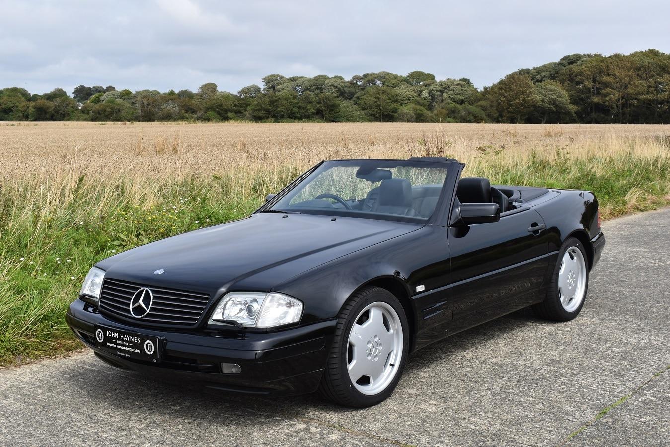 1998 Mercedes-Benz SL500 040 black
